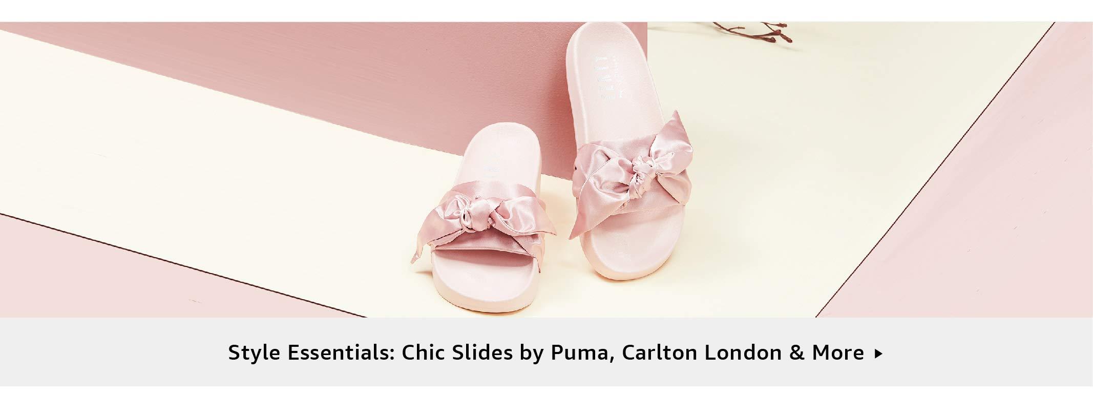 Style Essentials: Chic Slides by Puma,Carlton London & More