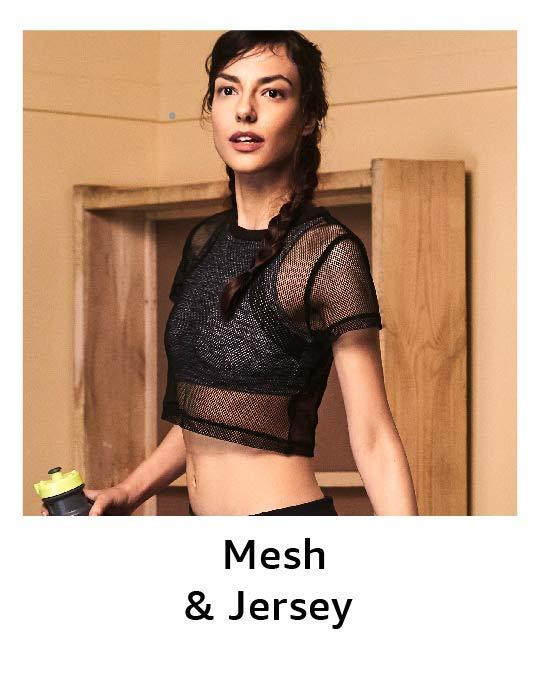 Mesh & Jersey