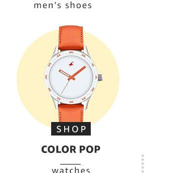 Color pop watches