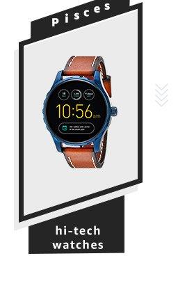 Hi tech watches
