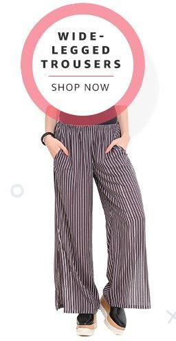 Wide Legged Trousers
