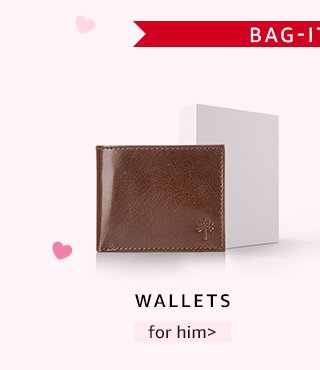 Wallets for him