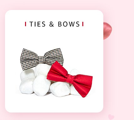Ties and bows