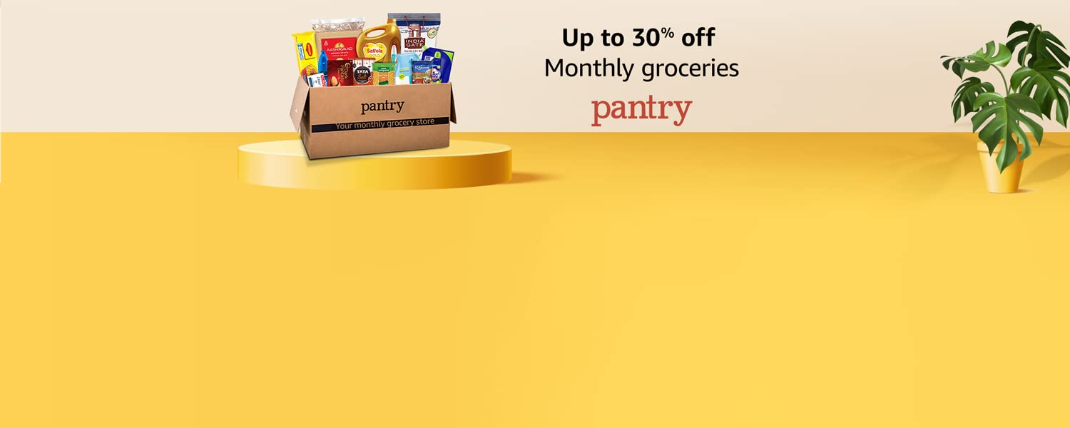 Amazon India - Avail 5% Off on Monthly Groceries