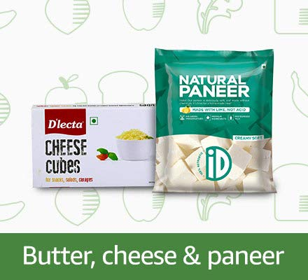 butter chees & paneer
