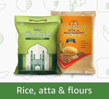 Rice, Atta & Flours