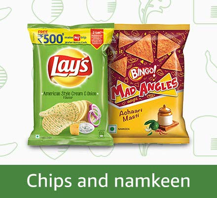 Chips and Namkeen