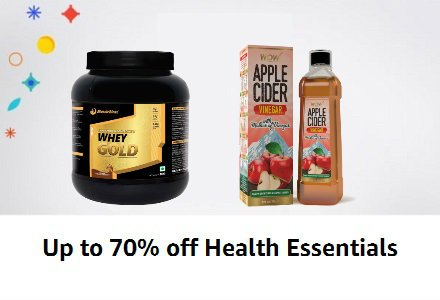Amazon India Great Indian Sale Offer Get upto 60% off on Daily Essentials