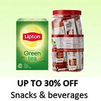Beverages & snacks
