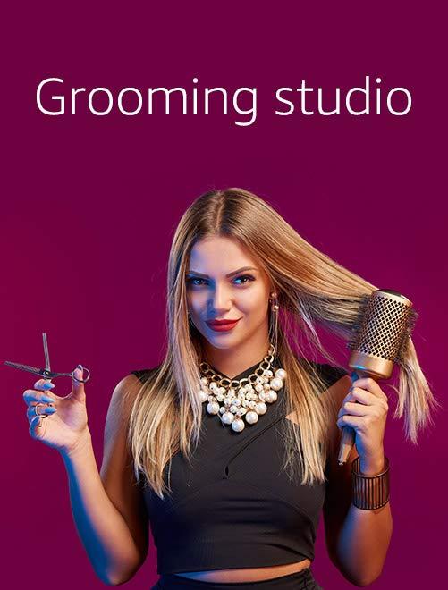 Grooming studio