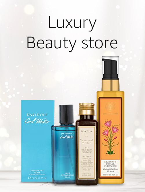 Luxury beauty store