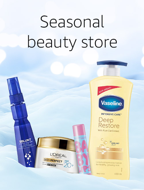 Seasonal beauty store