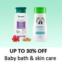 Baby bath & skin care