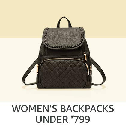 Women's Backpacks Under Rs. 799