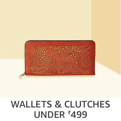 Wallets & Clutches Under Rs. 499
