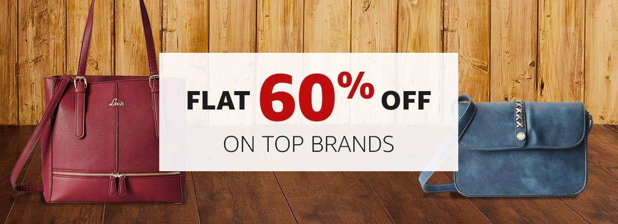 Flat 60% Off