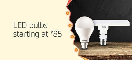 LED bulbs starting at Rs. 85