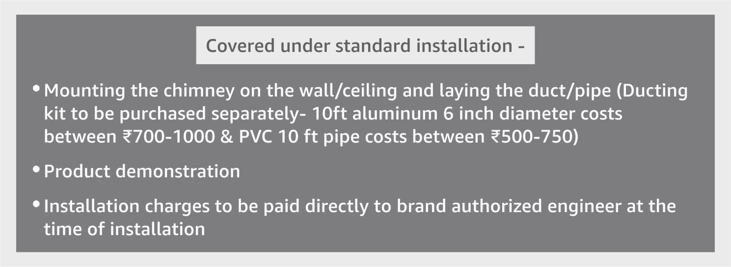 standard installation
