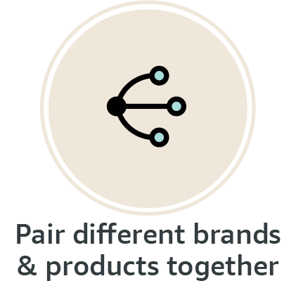 Pair different products