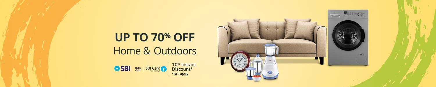 Home & Outdoors : UP TO 70% OFF