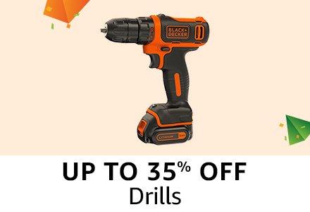 Upto 35% off : Drills