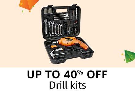 Upto 40% off : Drill kits