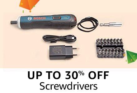 Upto 30% off : Screwdrivers