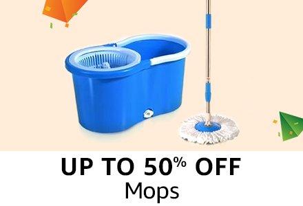 Upto 50% off : Mops