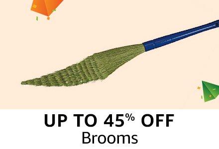 Upto 45% off : Brooms