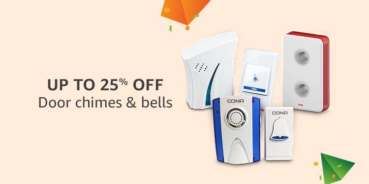 Upto 25% off : Door chimes & bells