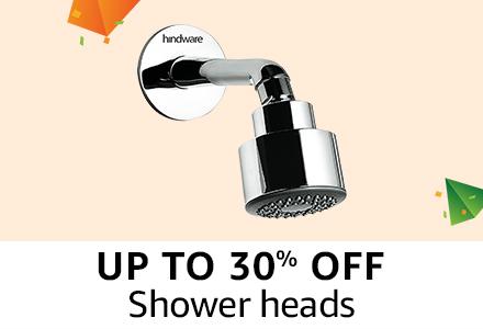 Upto 30% off : Shower heads