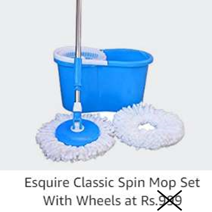 Esquire Classic Spin Mop