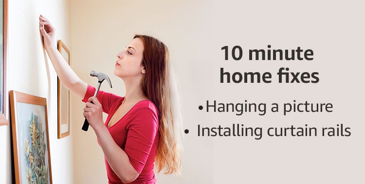 10 Minute Home Fixes