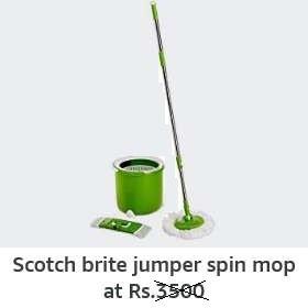 Scotch brite spin mop