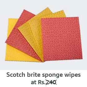Sponge wipes