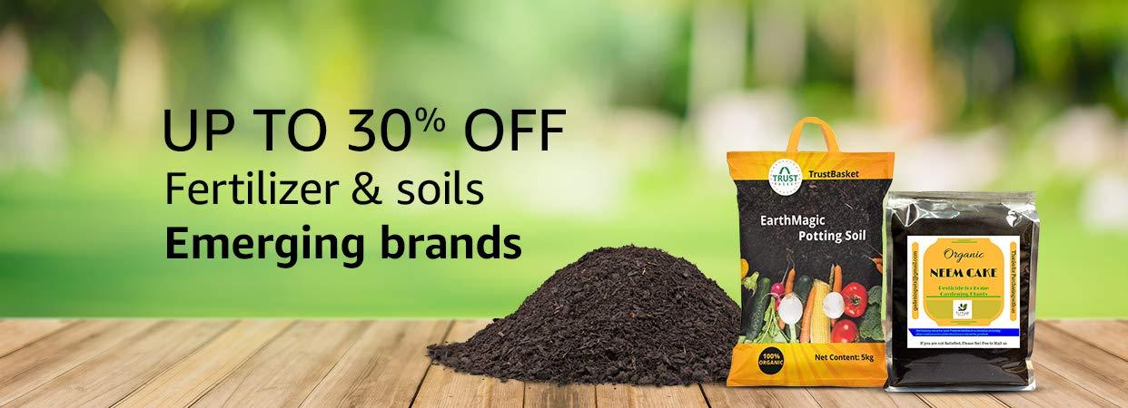 Fertilizer & Soil: Buy Fertilizer & Soil Online at Best