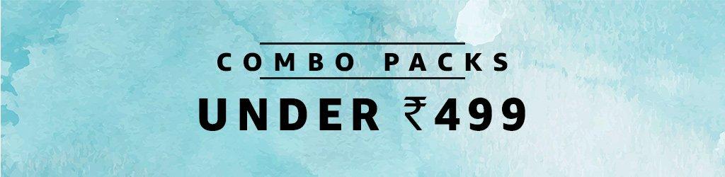 Combo Packs: Under 499