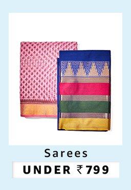Sarees under 799