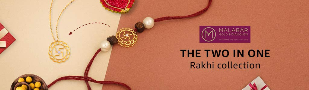 Malabar 2-in-1 Rakhi Collection
