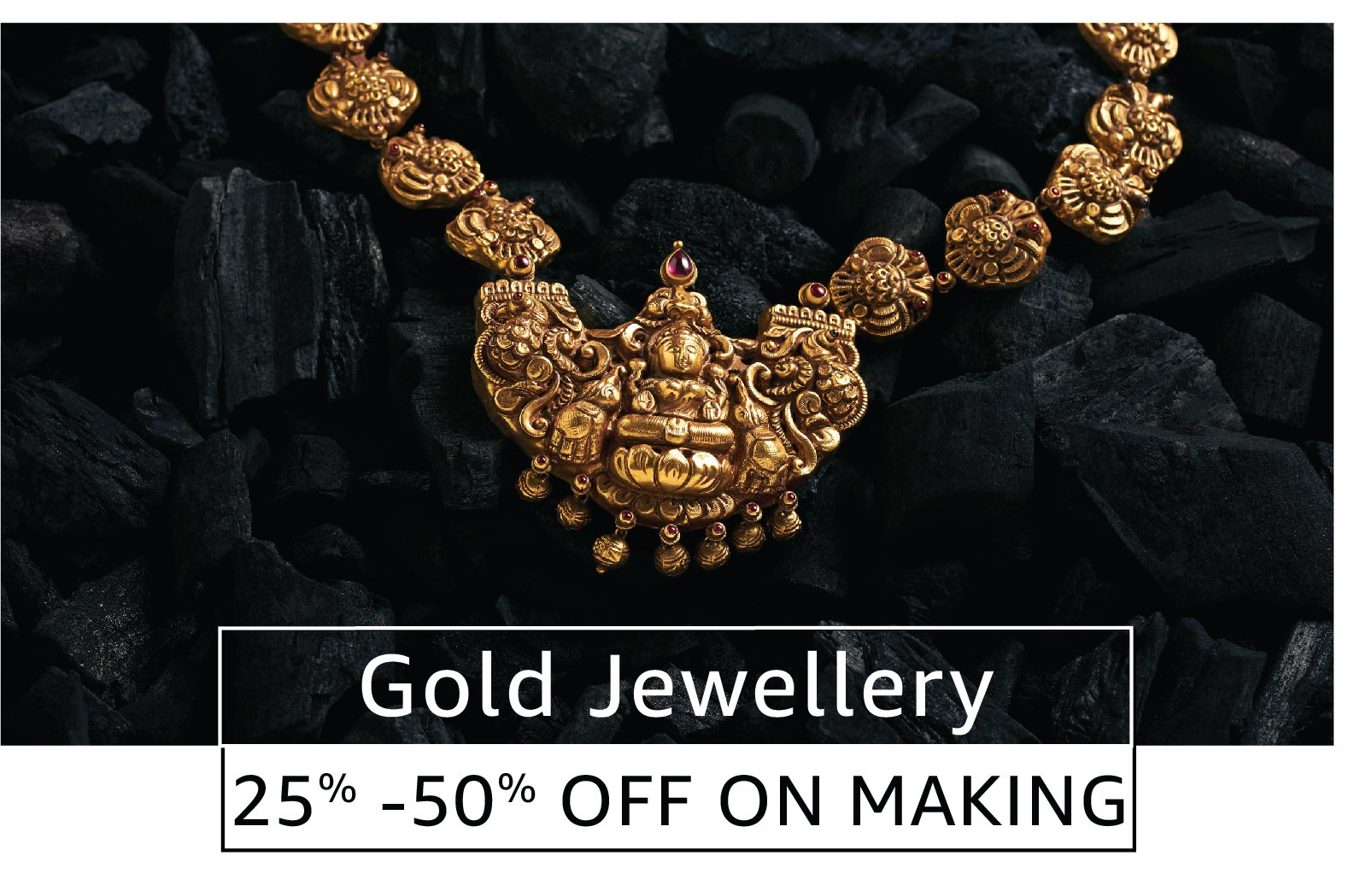 Gold Jewellery 25% to 50% off on making