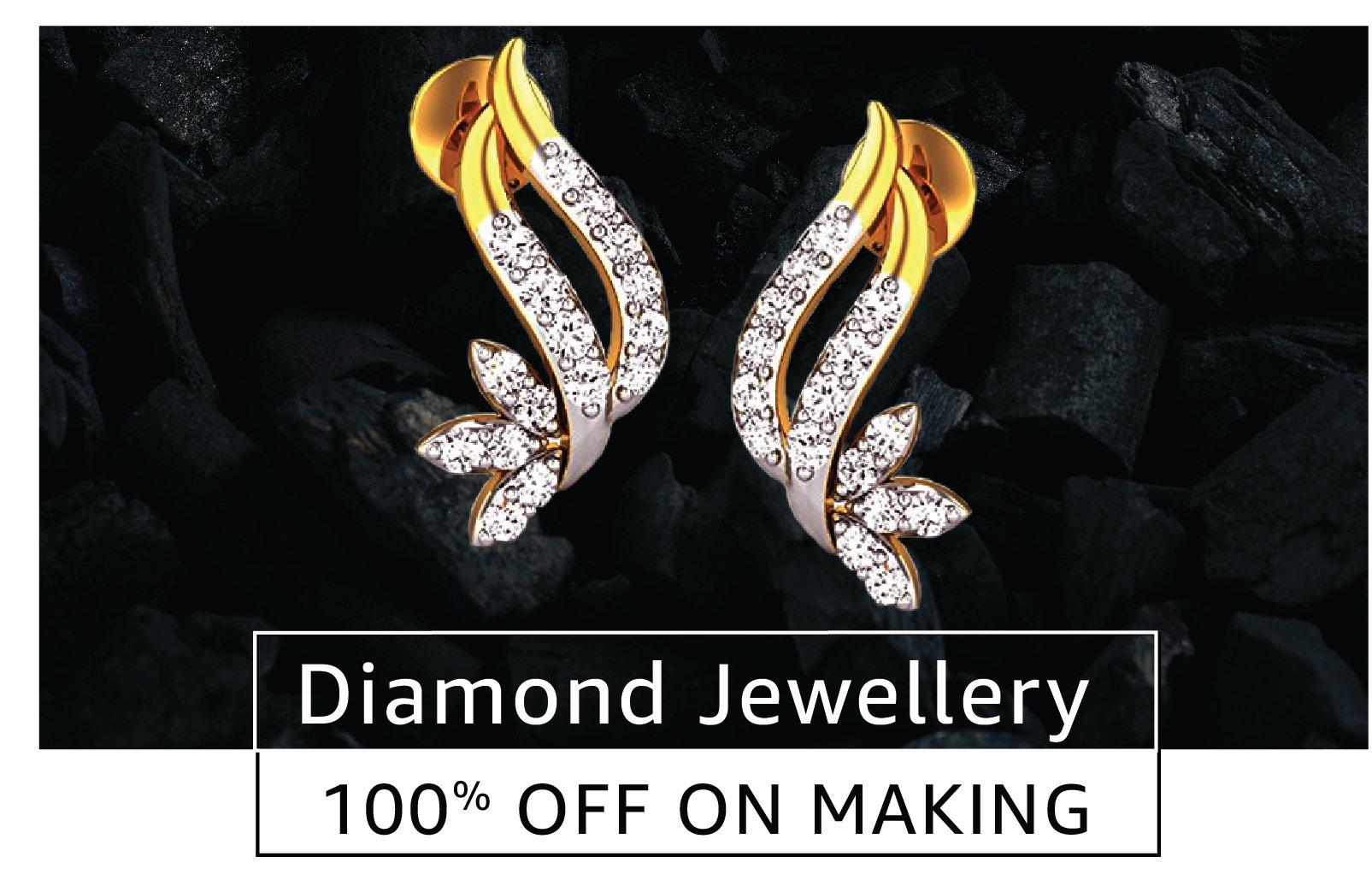 Diamond Jewellery 100% off on making