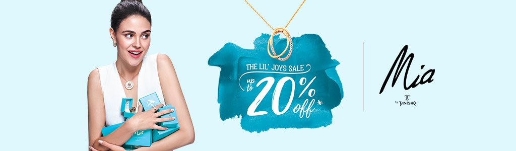 Mia by Tanishq - Up to 20% off