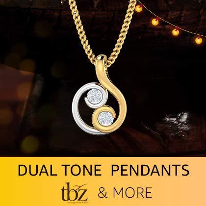 Dual tone pendants