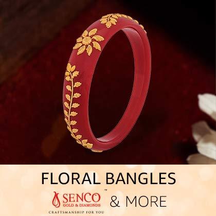 Floral bangles