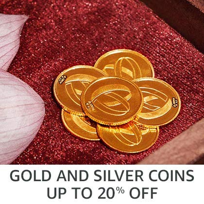 Gold and silver coins up to 20% off