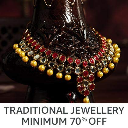 Traditional jewellery min 70% off