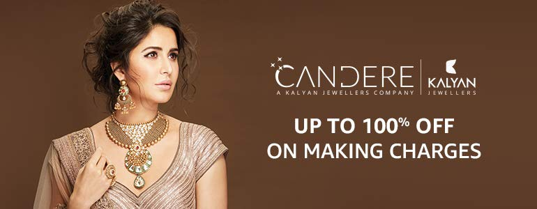 Candere up to 100% off making
