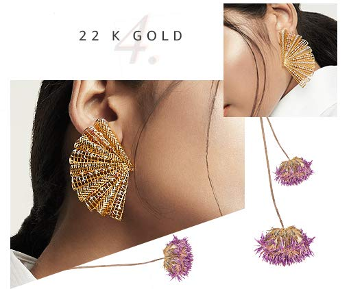 785d502fa356a Earrings: Buy Earrings online at best prices in India - Amazon.in