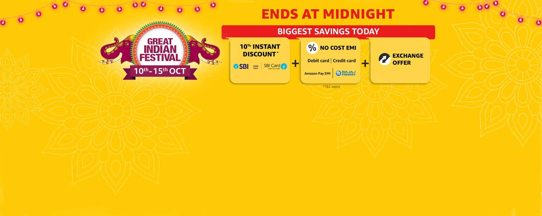 Sale live for Diwali