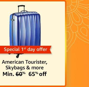 Sky bag, American tpurister